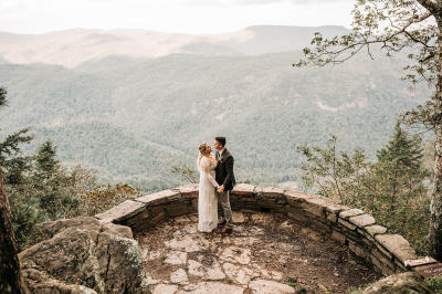 Chestoa Overlook Fall Elopement